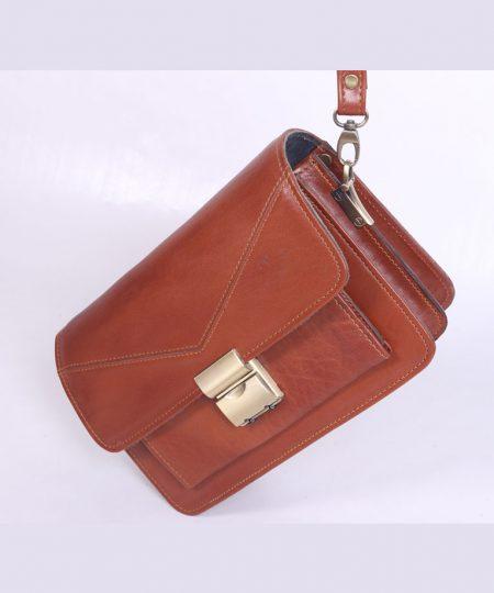 کیف پاسپوتی مردانه چرم طبیعی