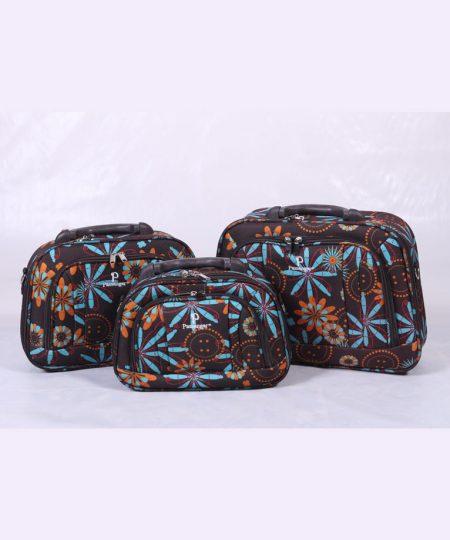 کیف آرایشی مسافرتی سه قلو