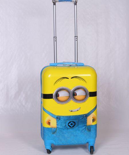چمدان مسافرتی کودک مدل مینیون سایز بزرگ