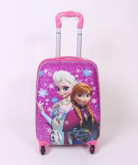چمدان مسافرتی کودک مدل السا و آنا سایز متوسط