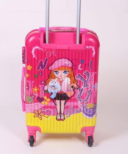 چمدان مسافرتی کودک مدل دخترانه سایز بزرگ