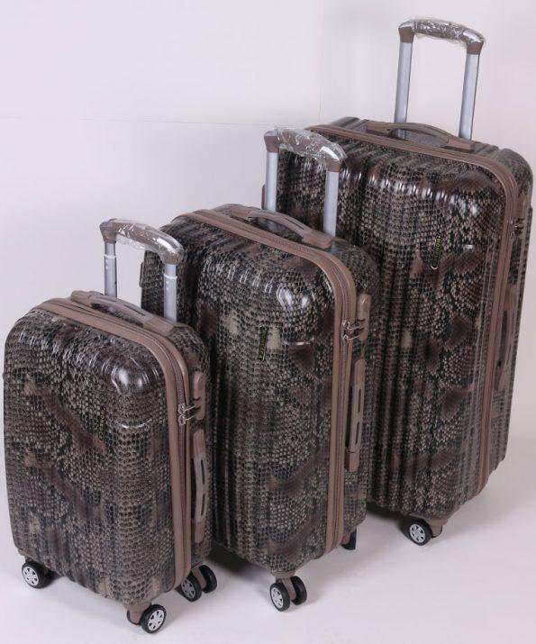 چمدان سه قلو فایبرگلاس MONESCA