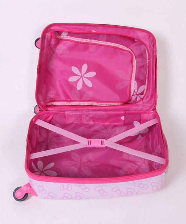 چمدان مسافرتی مدل دخترانه کیتی سایز متوسط