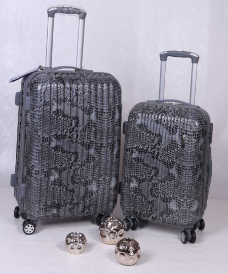 چمدان دو قلو فایبرگلاس MONESCA مدل پوست ماری