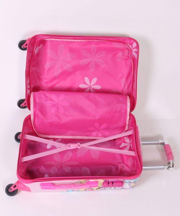 چمدان مسافرتی کودک مدل دخترانه کیتی سایز بزرگ