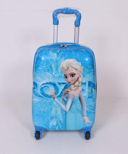چمدان مسافرتی کودک طرح فروزن سایز متوسط