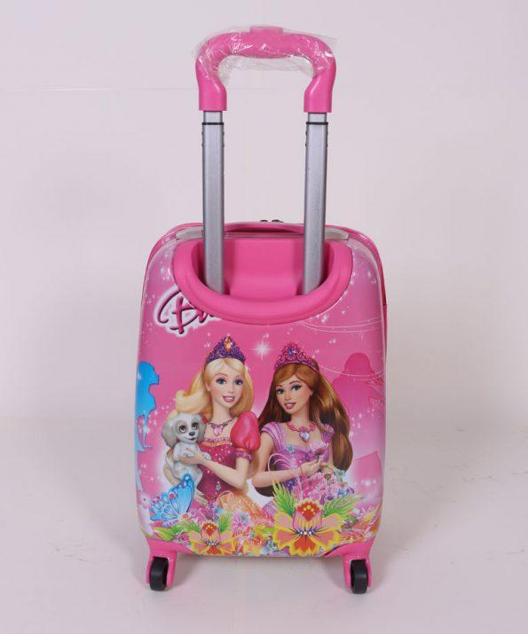 چمدان مسافرتی کودک طرح باربی سایز متوسط
