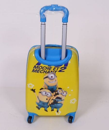 چمدان مسافرتی کودک طرح مینیون سایز متوسط