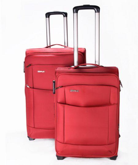 چمدان دوقلو کاترپیلار 2چرخ - CATERPILLAR