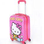 چمدان دخترانه طرح کیتی - Kitty سایز متوسط