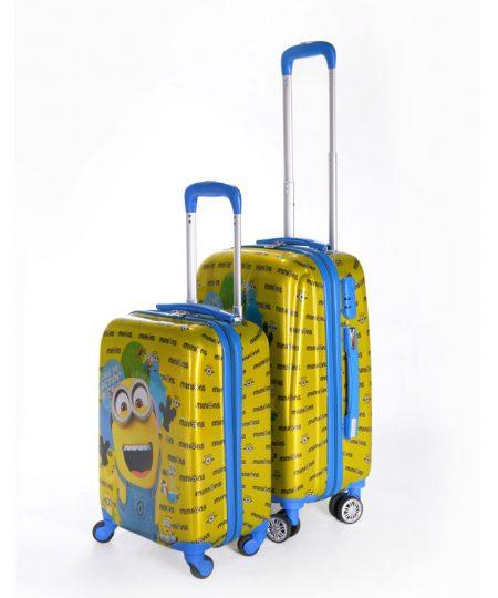 چمدان کودک طرح جدید مینیون - Minion سایز متوسط