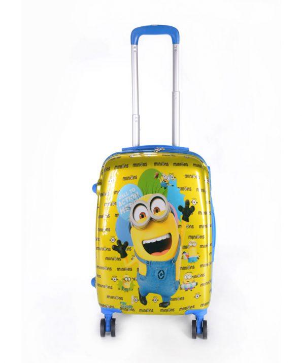 چمدان کودک طرح جدید مینیون - Minion سایز بزرگ