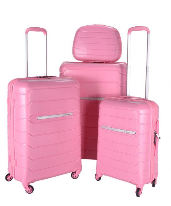 چمدان صورتی رنگ BURAK